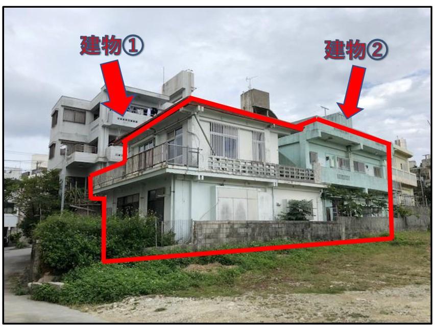 浦添市大平1丁目 アパート兼住居